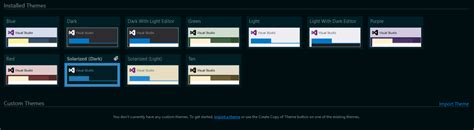 theme editor visual studio 2015 visual studio feature walkthrough part 2 my favorite