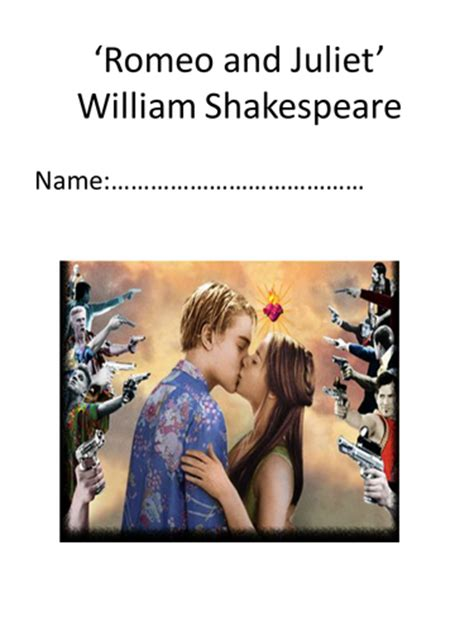 themes romeo and juliet tes romeo and juliet quote bank by divinemagic teaching