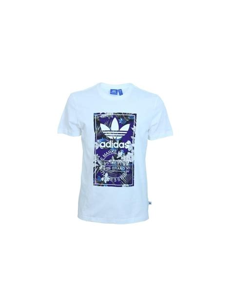 Flora Shirt White adidas flora label t shirt in white northern threads