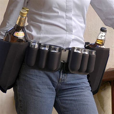Booze Belt It Or It by The Booze Belt The Supply For The Handy Gearfuse