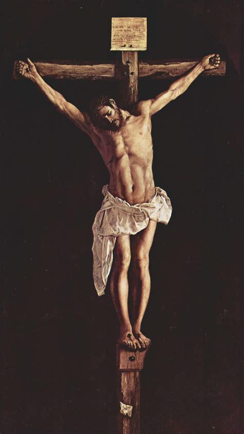velazquez christ on the cross crucifix jesus paintings