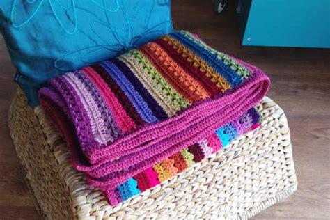 Blocking acrylic crochet blankets   Crafternoon Treats