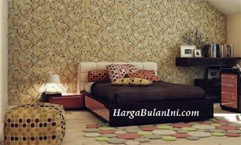 Wallpaper Pelapis Dinding harga wallpaper dinding terbaru pelapis tembok untuk keindahan pengganti cat mei 2018