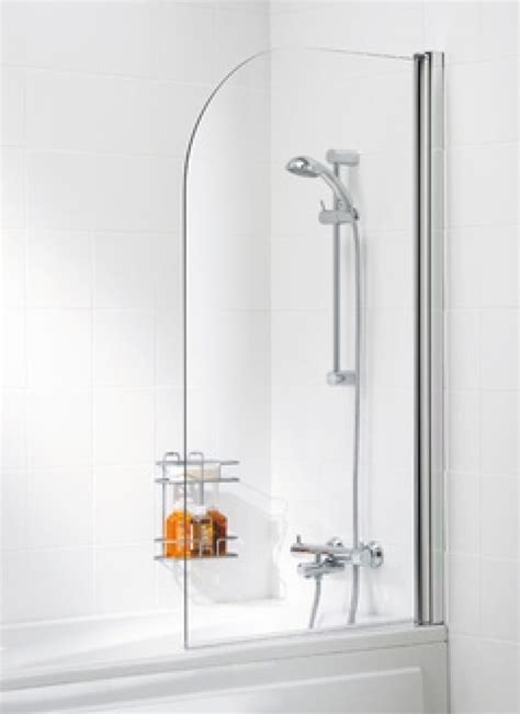 curved bath shower screens lakes bathrooms classic silver 800mm curved bath shower screen