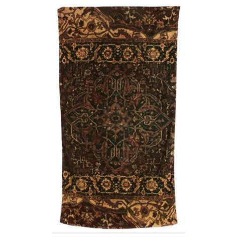 Gold Bathroom Rugs Casbah Rug Cocoa Gold Cotton Bath Towels By Fresco Gracious Style