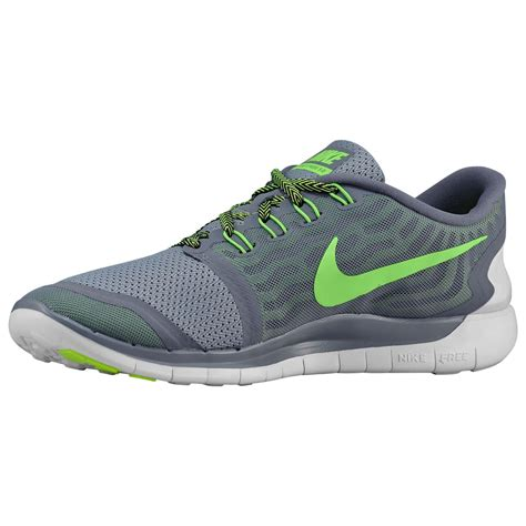 Nike Free Running 5 0 A nike free 5 0 2015 mens running trainers cool grey voltage