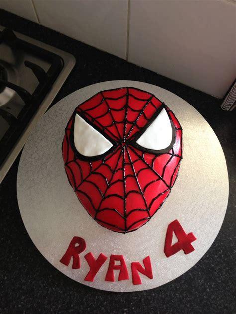 spider man themed birthday cake    year  boy  cakes pinterest birthday cakes