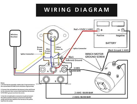 warn model 8274 winch wiring diagram warn free engine