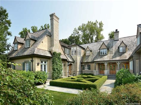 classic country home illinois luxury homes