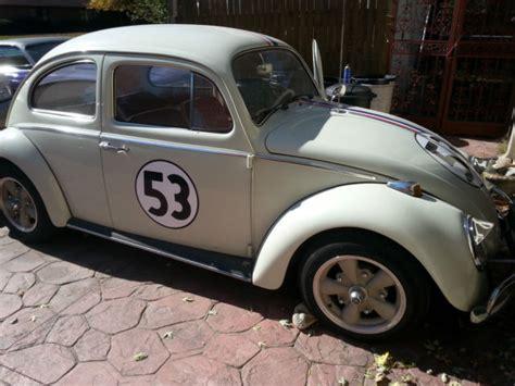 volkswagen beetle classic herbie 1964 vw beetle herbie quot 53 quot replica