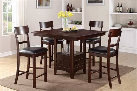 Go To New Heights With These 7 Bar Height Dining Tables Dining Room Set High Tables