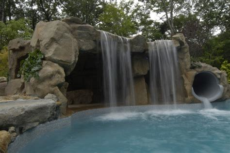 Tropical House Designs And Floor Plans charming waterfalls for pools to be amazed by decohoms