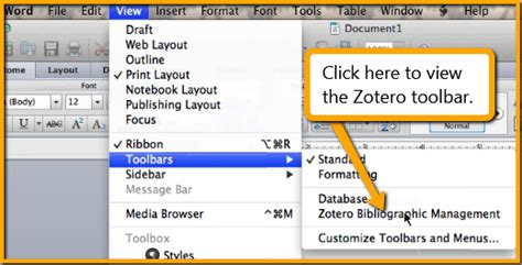 tutorial zotero word zotero mercer university library