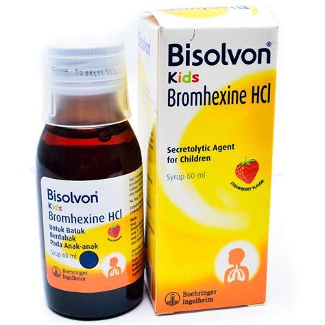 Obat Batuk Bisolvon jual bisolvon 60 ml apotik jafa