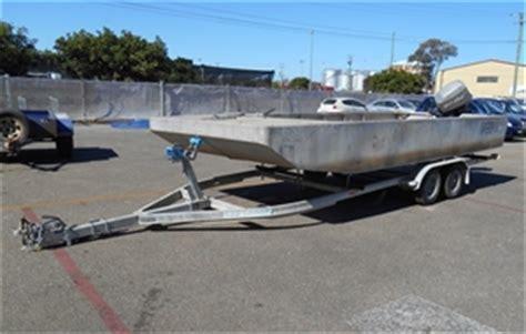 punt boats for sale nsw goliath aluminium punt auction 0002 7005451