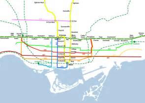 Toronto Metro Map by Toronto Subway Map Images