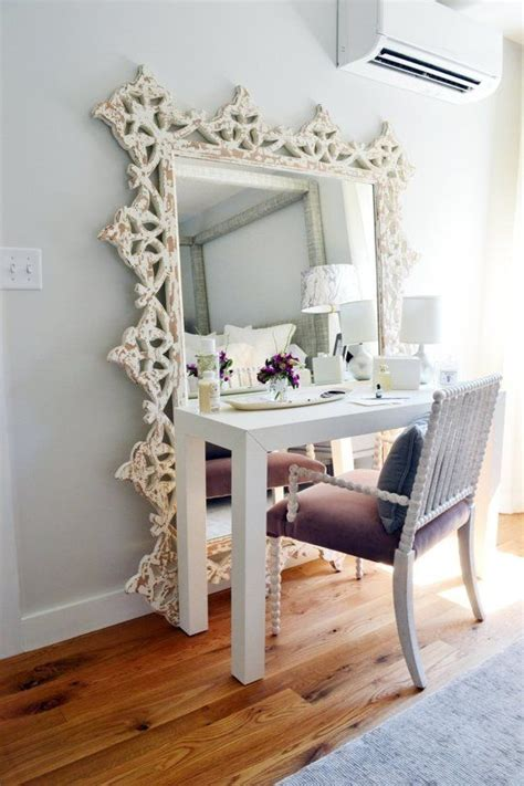 13 floor mirror turned vanity find your fantasy makeup