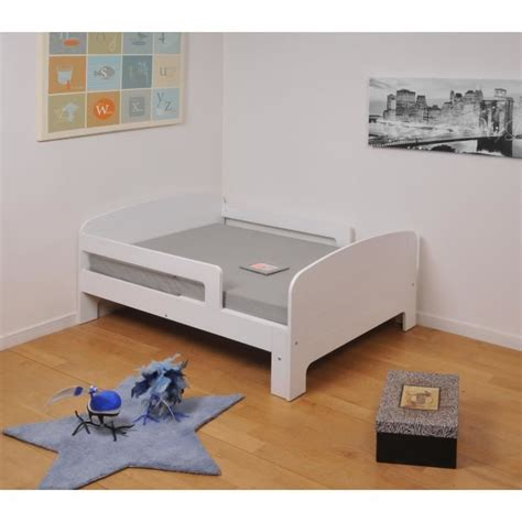 toby lit enfant 233 volutif 90x140 200 cm matelas blanc