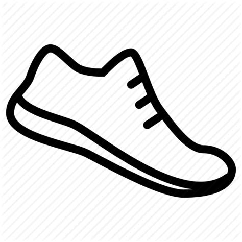 running shoe icon hobby running shoes speed sport time track icon