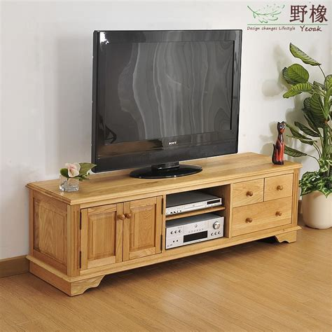 Living Room Cabinet Furniture Oak Tv03 White Oak Wood Cabinet Tv Cabinet Modern Minimalist Living Room European Style
