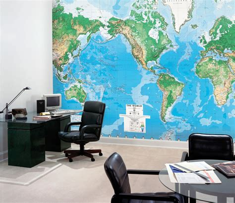 world map wall murals world map wall mural rosenberryrooms