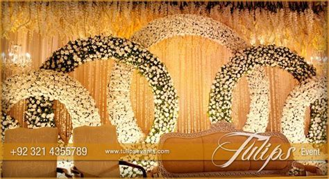 Gold Theme Stage Setup design ideas in Pakistan   shehnai