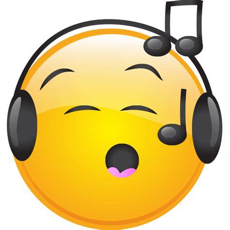 singing emoji musical smiley smiley smileys and emojis