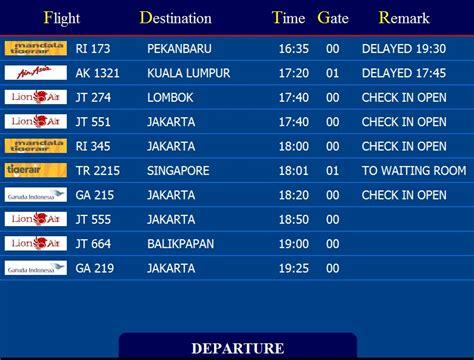 membuat web jadwal penerbangan informasi jadwal penerbangan bandara pengetahuan bandar
