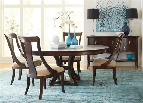 transitional dining room tables havertys furniture