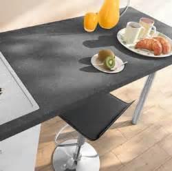 Charmant Cuisine Sol Gris Clair #4: plan-de-travail-stratifie-en-gris-ardoise-castorama.jpg