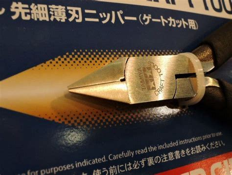 Side Cutter Point Thin Blade Nipper 1 tamiya point thin blade nipper for gate cut 74123