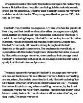 Courage Essay Exles by Nelson Homeless Essay