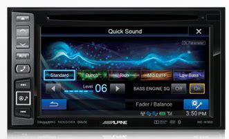 alpine all in one navigation audio video system   portable