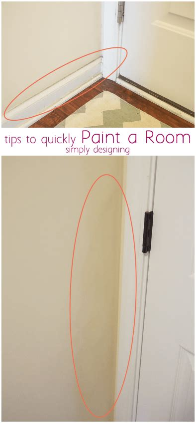 paint walls faster by starting on the left if you re right quickly paint a room in your home here s how to paint a