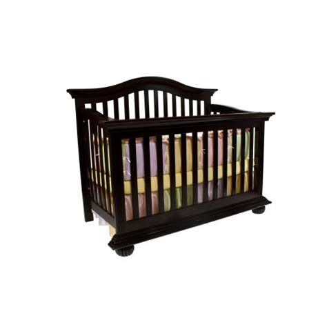 simmons furniture valencia crib n more black cherry