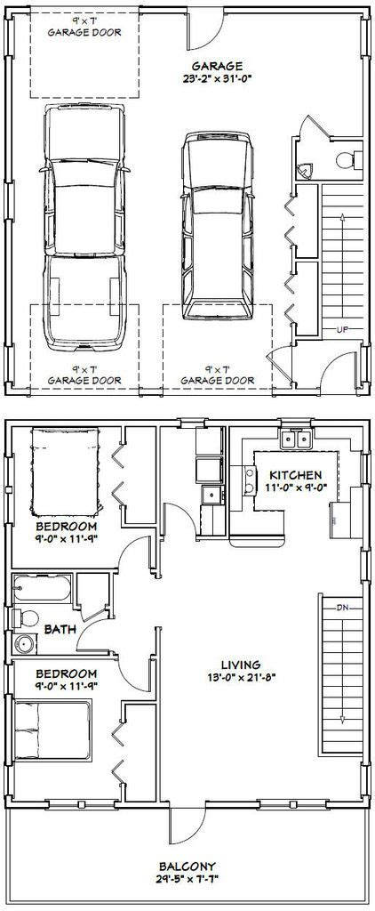 garage under house floor plans 25 best ideas about garage apartment plans on pinterest