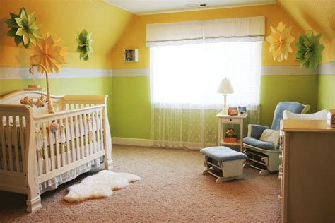 pearl district neutral baby nursery diy