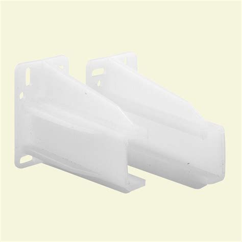 Drawer Side Track Back Brackets by Prime Line Drawer Track Guide And Glides R 7224 The Home
