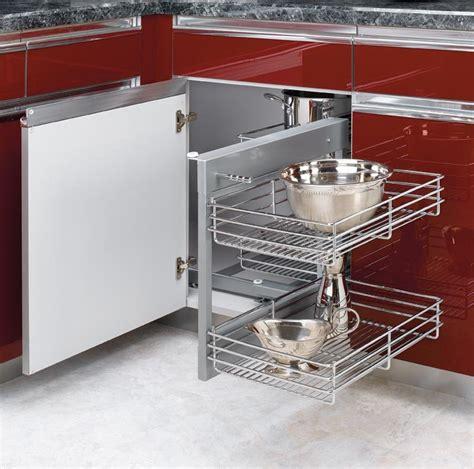 rev a shelf blind corner cabinet system rev a shelf blind corner optimizer for 15 quot opening