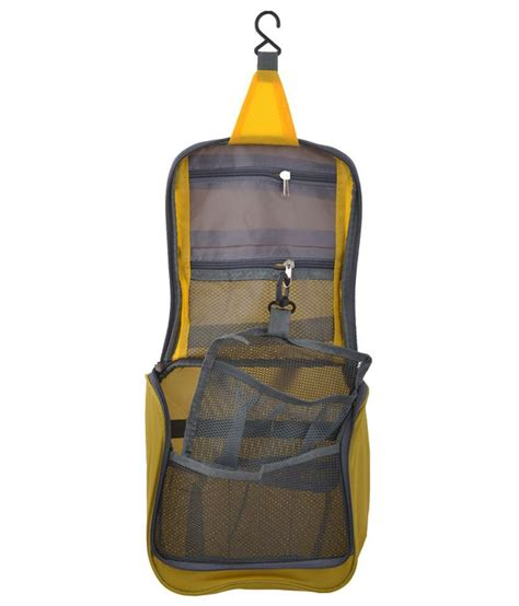 Toiletry Bag Snapdeal Packnbuy Travel Cosmetic Hanging Bag Organizer Yellow