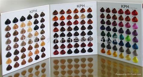 Bed In A Bag hair color chart china manufacturer product catalog