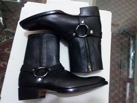 mens casual biker boots best 25 s leather boots ideas on s