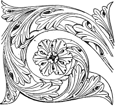 romanesque frieze clipart