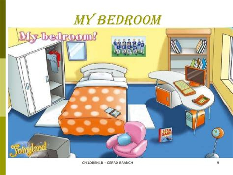 My Bedroom Clipart Prepositions