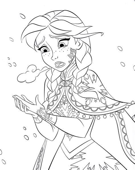 frozen story coloring pages walt disney coloring pages princess anna walt disney