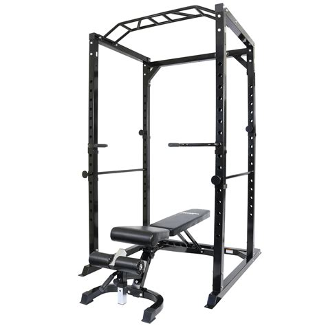 bench cage mirafit 350kg heavy duty olympic full power cage with