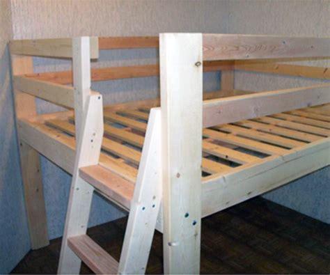 reader showcase diy full sized  loft bed  design