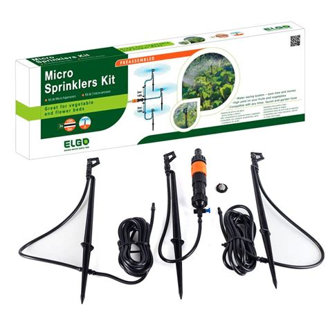 genesis 20 ft watering system with micro sprayers rsi ms3