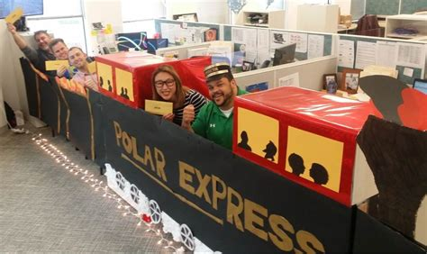 office decorated in the polar express chicago s polar express axis communications office photo glassdoor