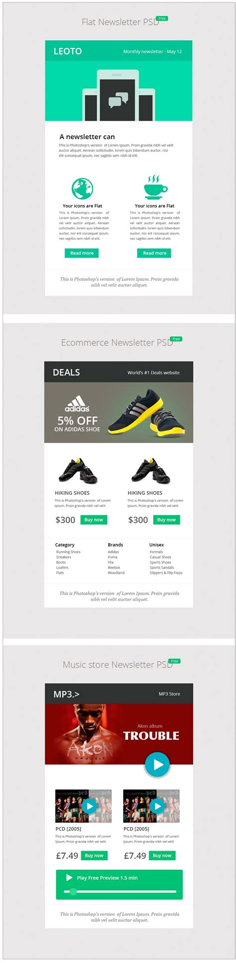 Free Email Template Psd 28 Images Free Email Newsletter Templates Psd 187 Css Author Free Css Email Template